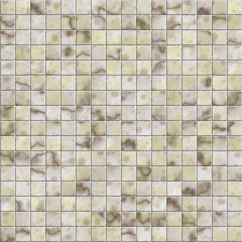 Azulejo de mosaico stock de ilustración