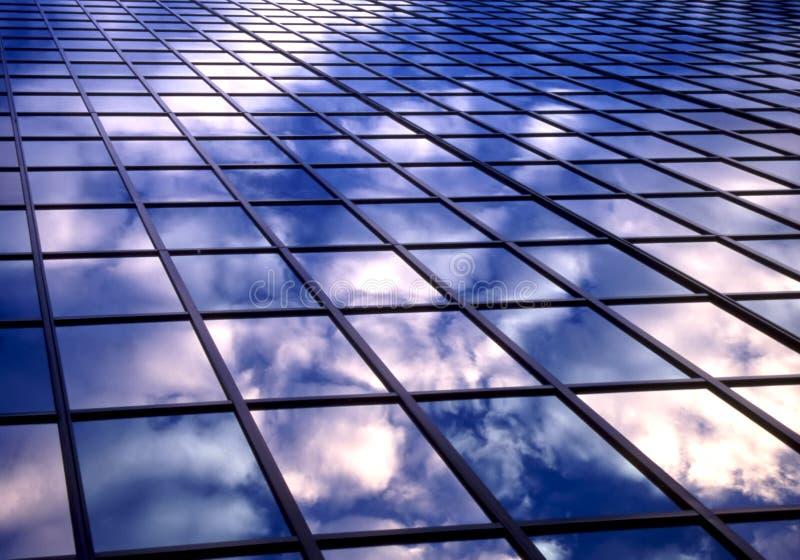 Azulejo de nubes imágenes de archivo libres de regalías