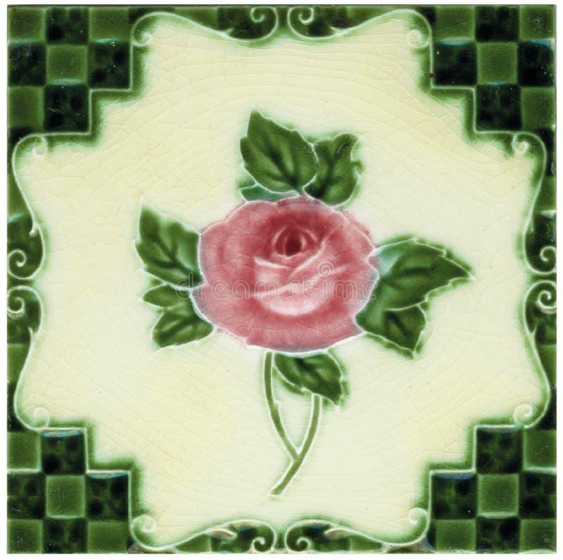 Azulejo de Peranakan fotografía de archivo libre de regalías