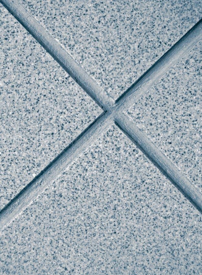 Azulejo de suelo azul imágenes de archivo libres de regalías