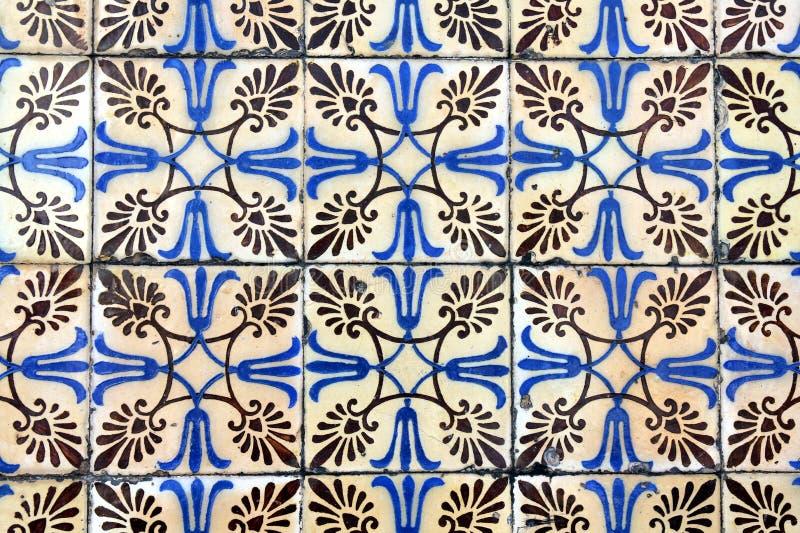 Azulejo en Braga stock de ilustración