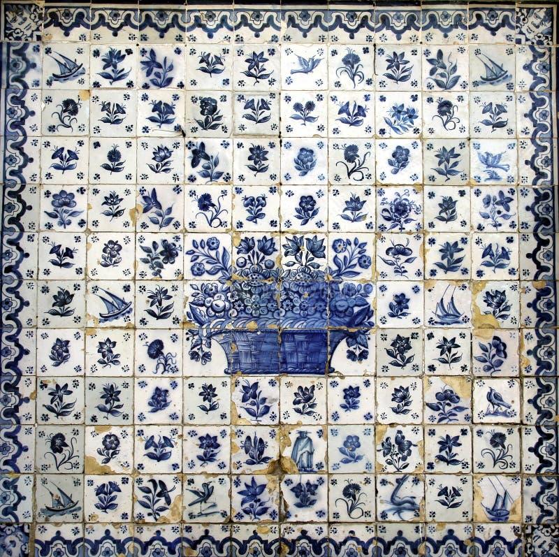 Azulejo en Oporto imagenes de archivo