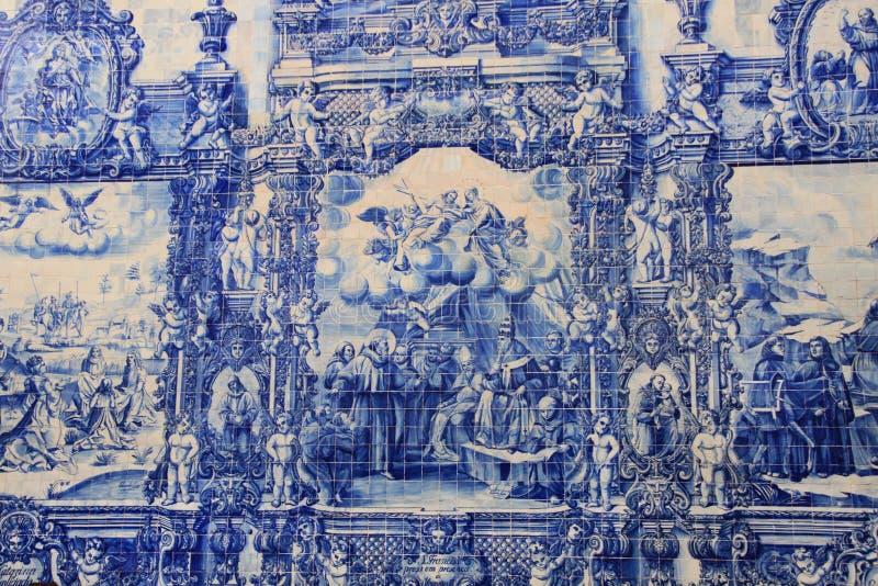 Azulejo (keramische tegel) royalty-vrije stock fotografie