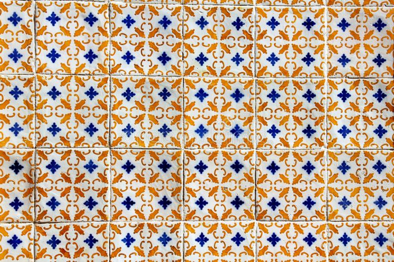 Azulejo in Lisbon stock photo