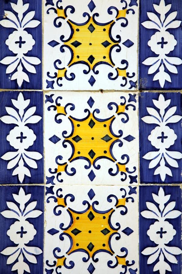 Azulejo a Lisbona immagine stock libera da diritti