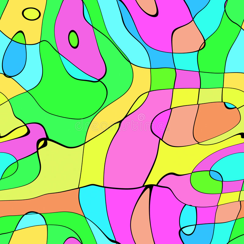Azulejo moderno ilustración del vector