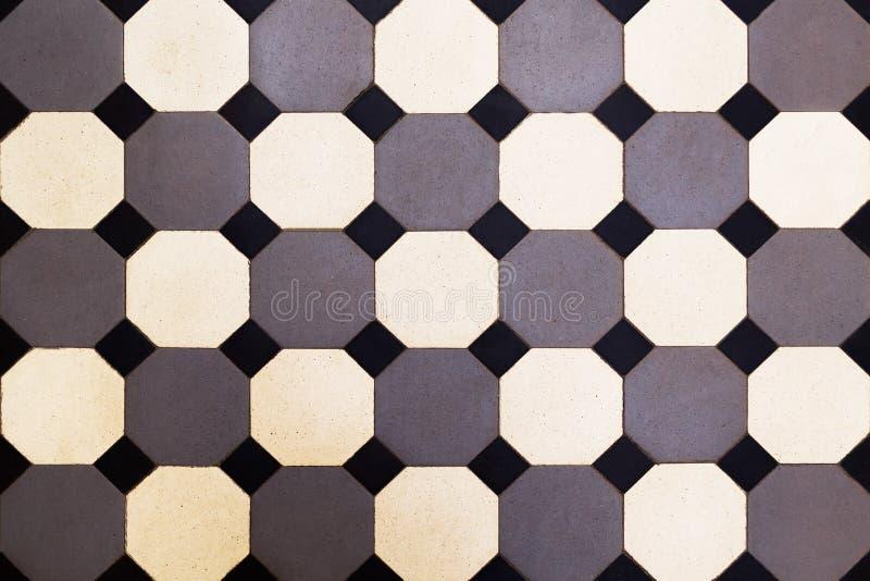 Azulejo Mosaico, azulejos com teste padr?o cl?ssico Textura imagem de stock royalty free