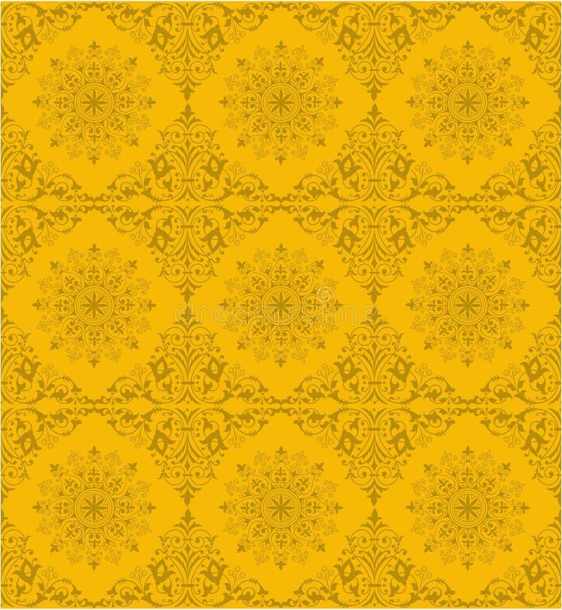 Azulejo ornamental ilustración del vector