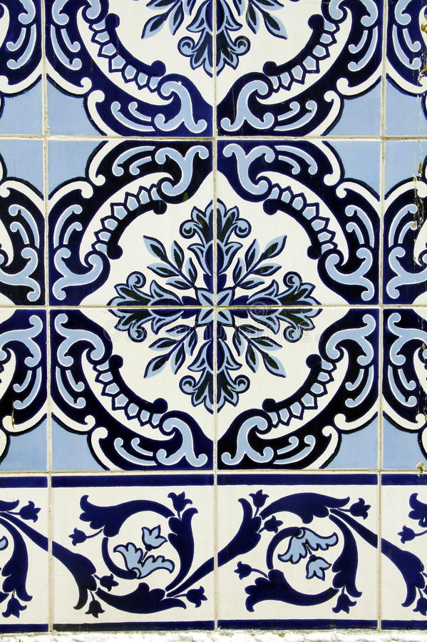 Azulejo in Porto stockbild