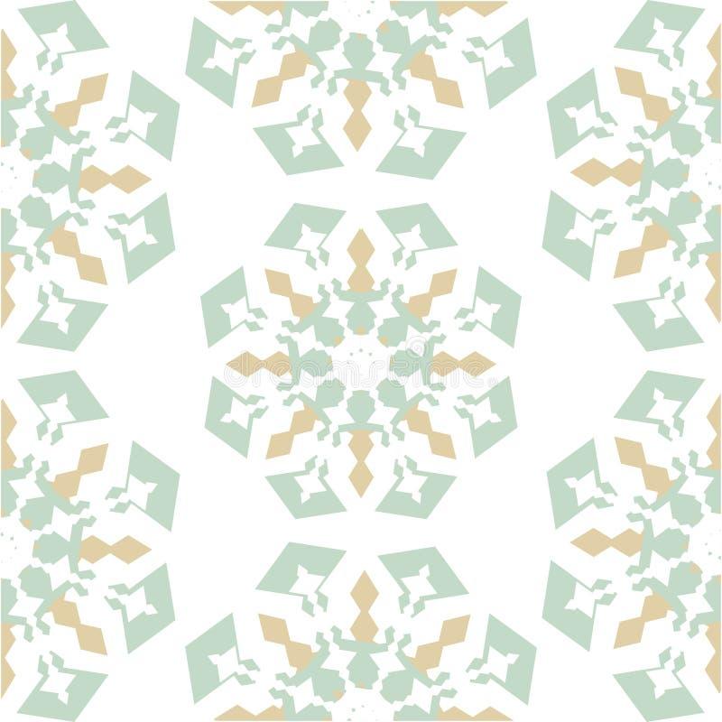 Azulejo sem emenda com retalhos coloridos Teste padr?o multicolorido do vintage Pode ser usado para o azulejo, papel de parede, l ilustração do vetor