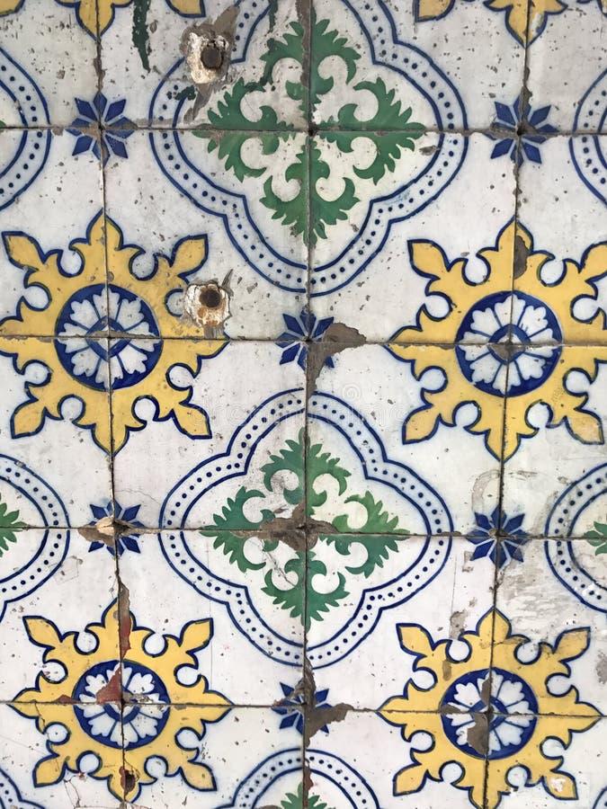 Azulejo tradicional de Portugal foto de stock royalty free