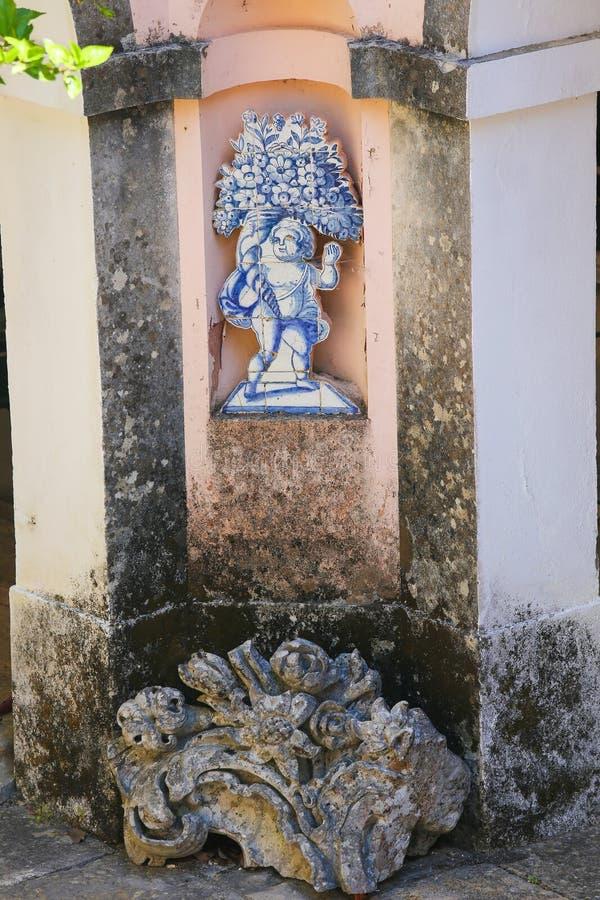 Azulejo w Quinta w Portugalia obrazy stock