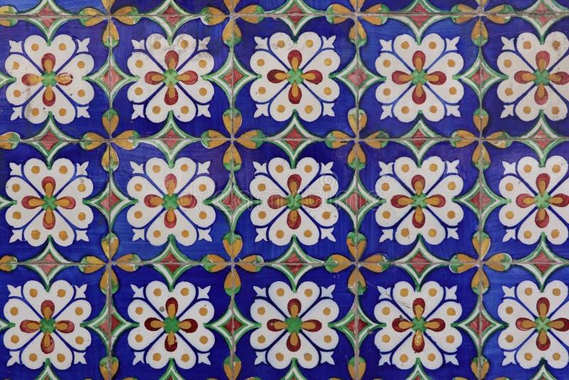 Azulejos在里斯本 免版税库存照片