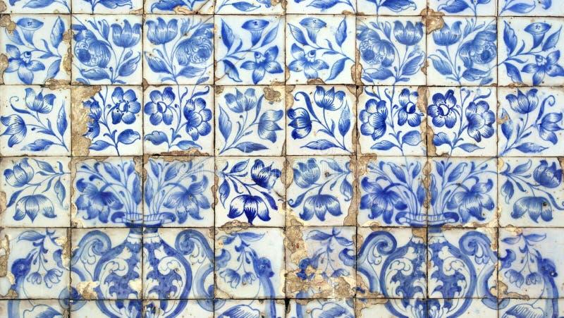 Azulejos, португальские плитки стоковое фото