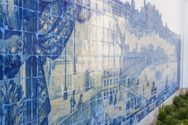 Download Azulejos stock image. Image of architecture, painted - 27059699