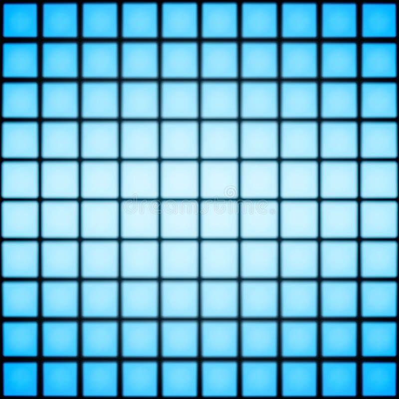 Azulejos azules ilustración del vector