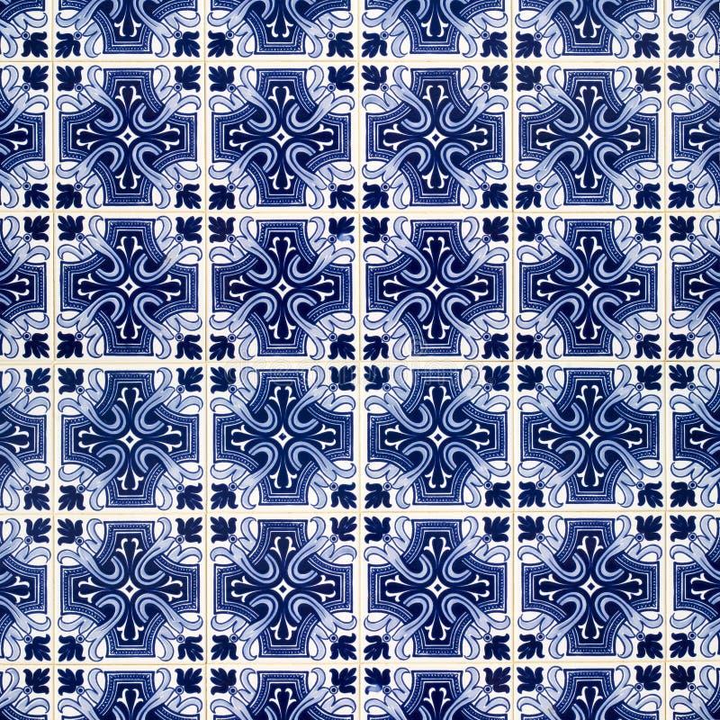 Azulejos belagd med tegel bakgrund vektor illustrationer