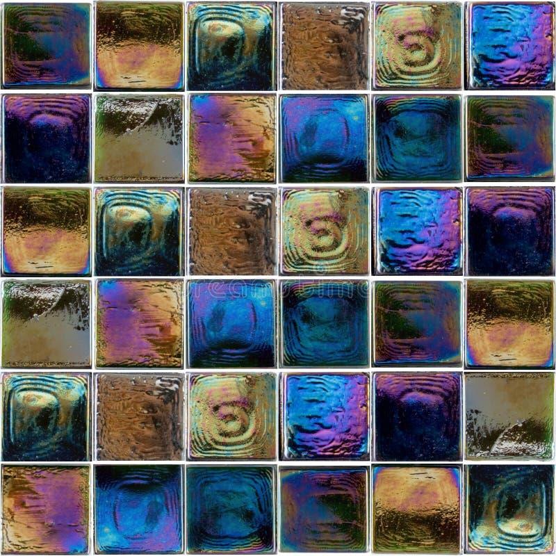 Azulejos de cristal interiores del arco iris imagen de - Azulejos de cristal ...