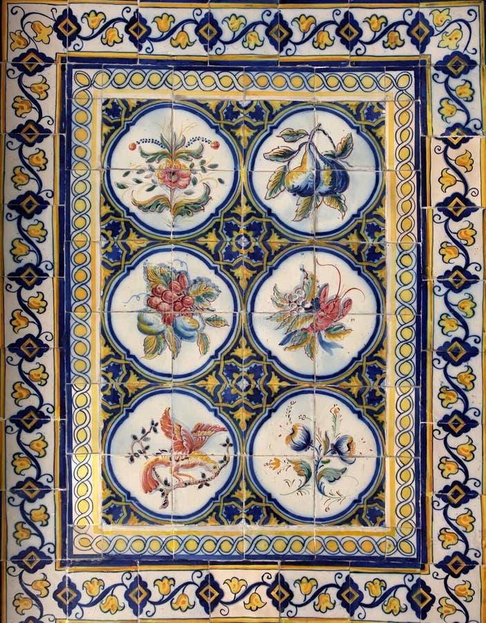 Azulejos de Lisbonne images libres de droits