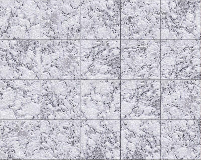 Azulejos de mármol ilustración del vector