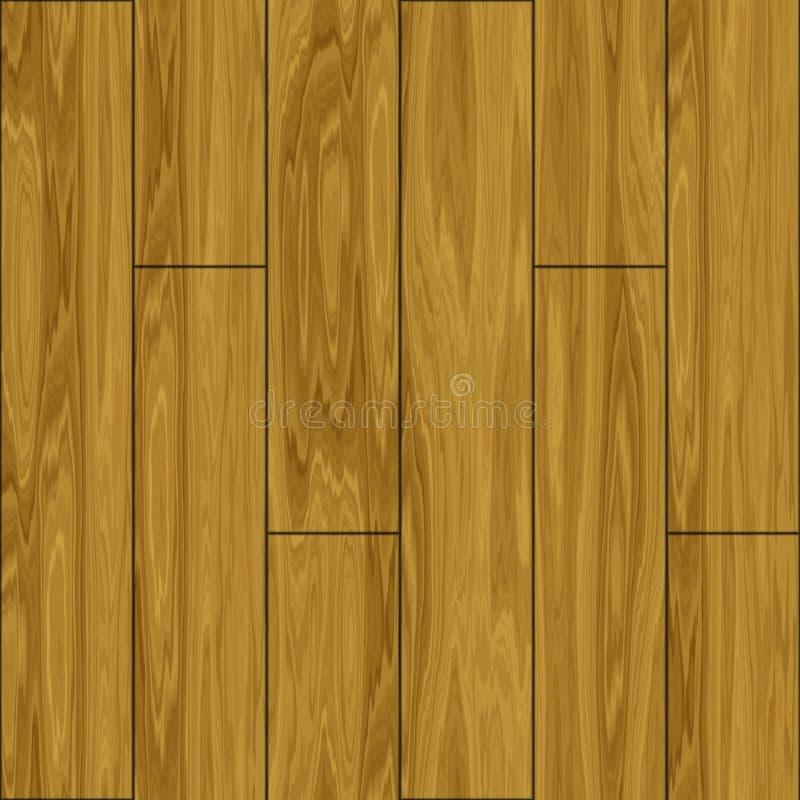 Azulejos de madera del entarimado stock de ilustración