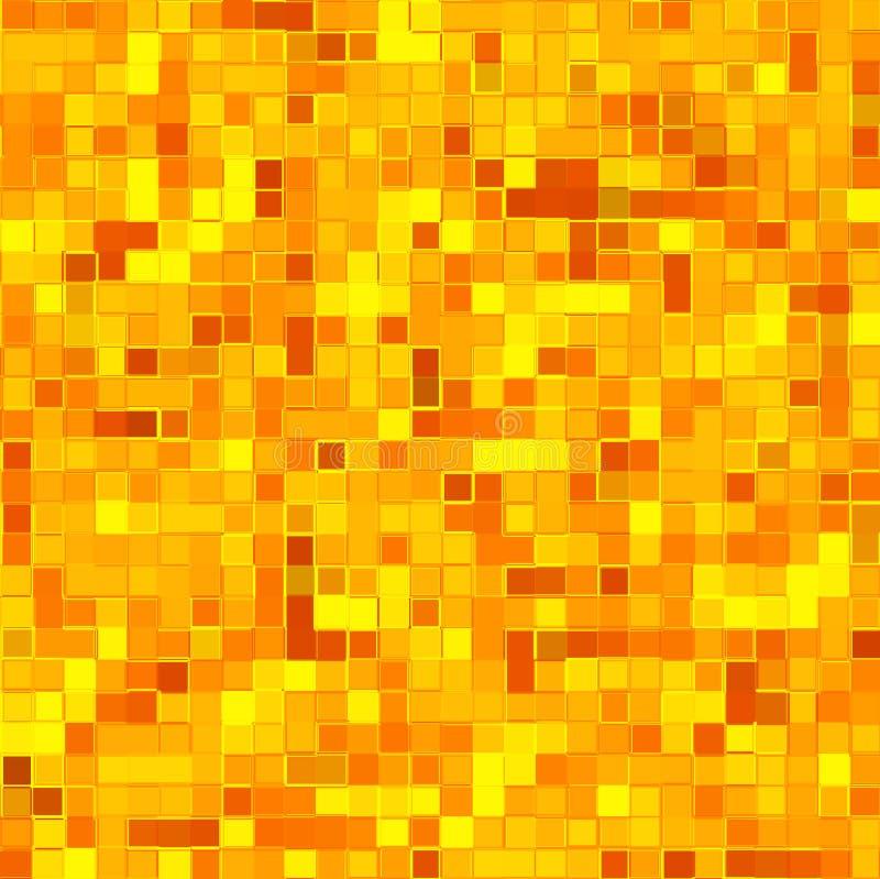 Tejas de mosaico ilustración del vector
