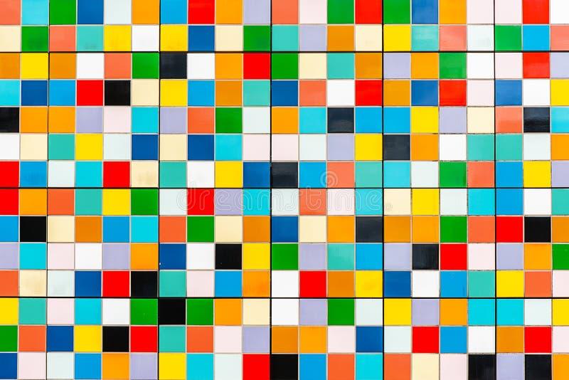 Azulejos de mosaico coloridos imagen de archivo libre de regalías