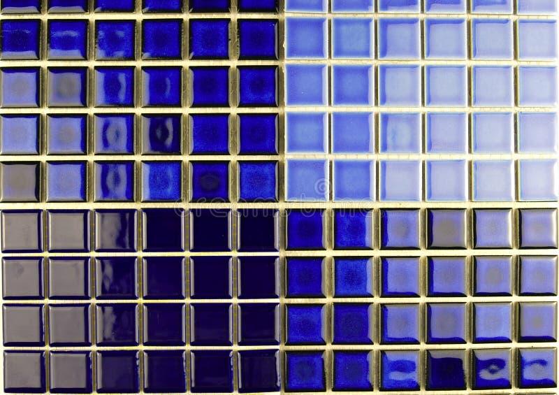 Azulejos de mosaico de cerámica fotografía de archivo