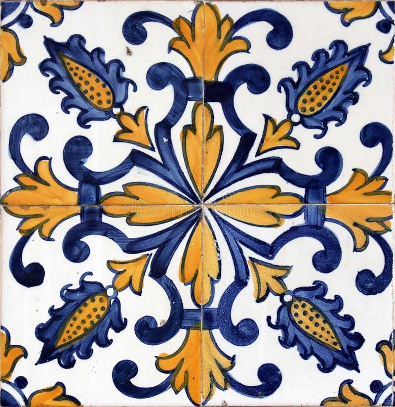 Azulejos di Lisbona immagini stock