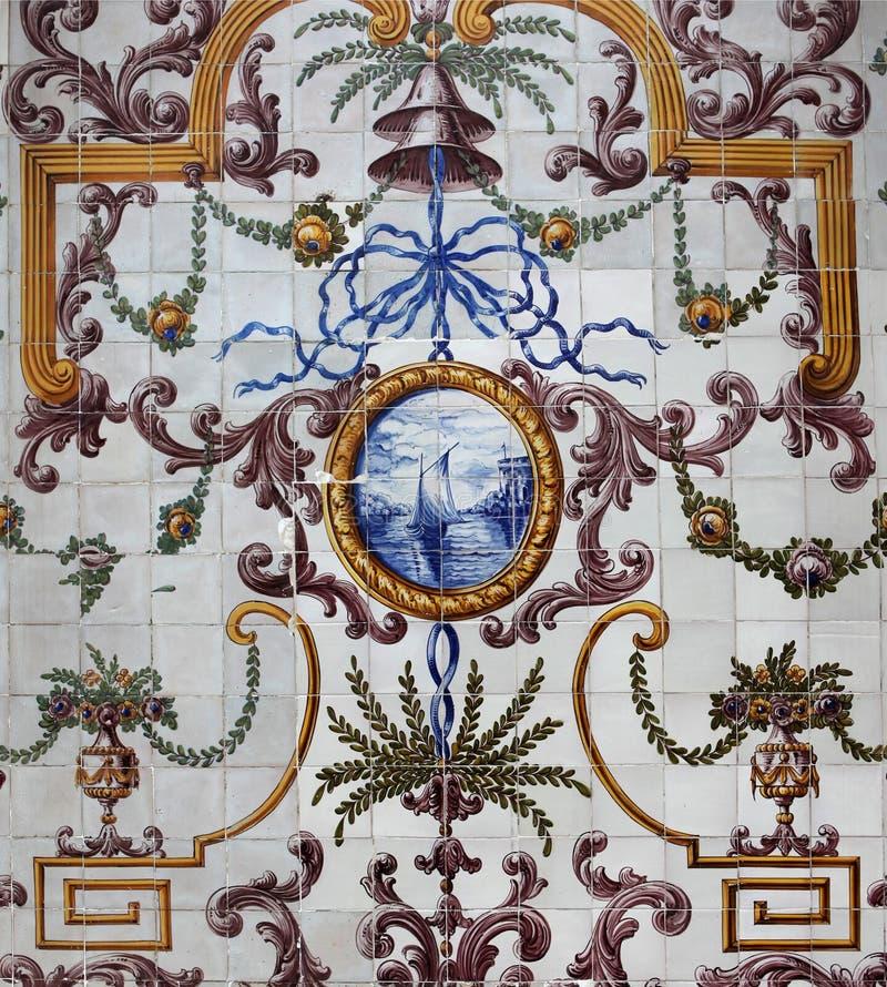 azulejos lisbon royaltyfri bild