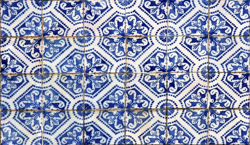 azulejos lisbon arkivfoton