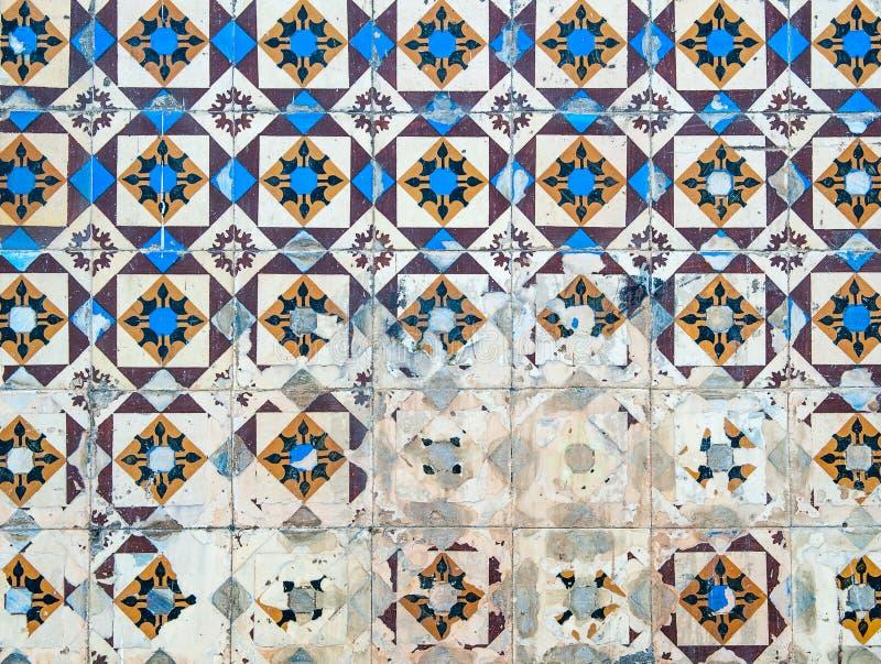 Azulejos, mattonelle portoghesi tradizionali royalty illustrazione gratis