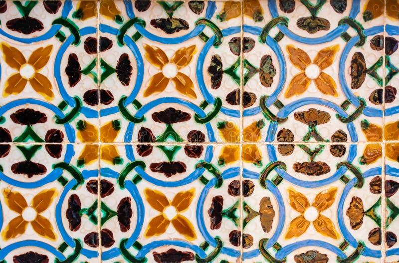 Azulejos, mattonelle portoghesi tradizionali immagine stock