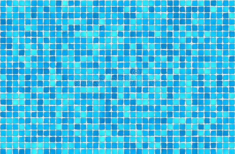 Azulejos - mosaico stock de ilustración