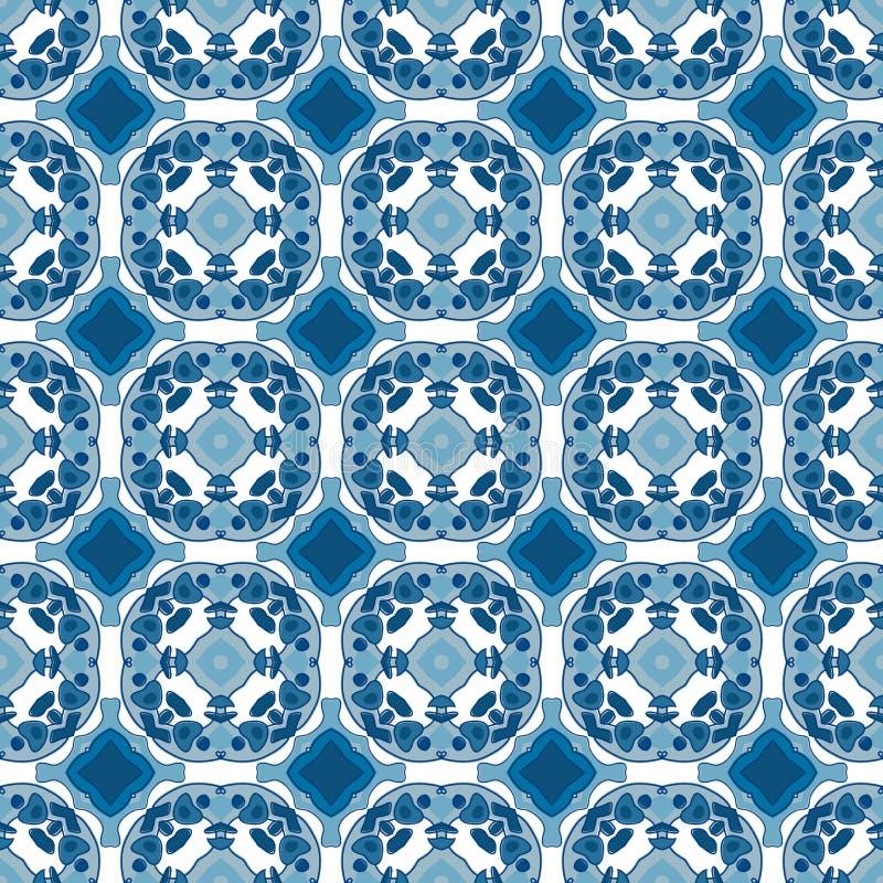 Download Azulejos portugueses ilustración del vector. Ilustración de azulejos - 44854093