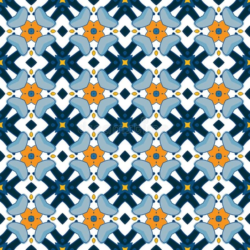 Download Azulejos portugueses ilustración del vector. Ilustración de decorativo - 44854192