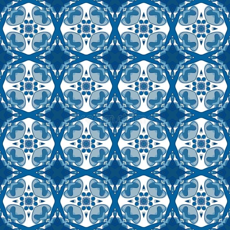 Download Azulejos portugueses ilustración del vector. Ilustración de blanco - 44854204