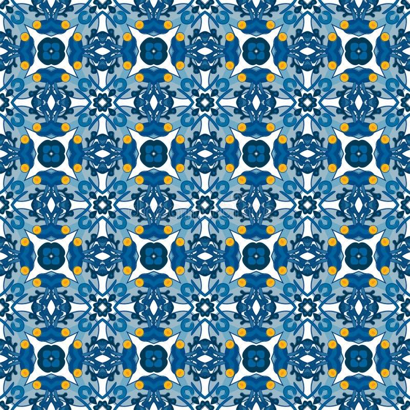 Download Azulejos portugueses ilustración del vector. Ilustración de decorativo - 44854246