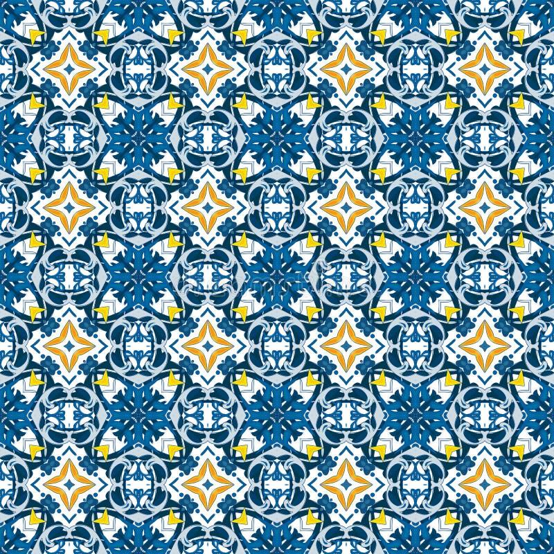 Download Azulejos portugueses ilustración del vector. Ilustración de diseño - 44854250