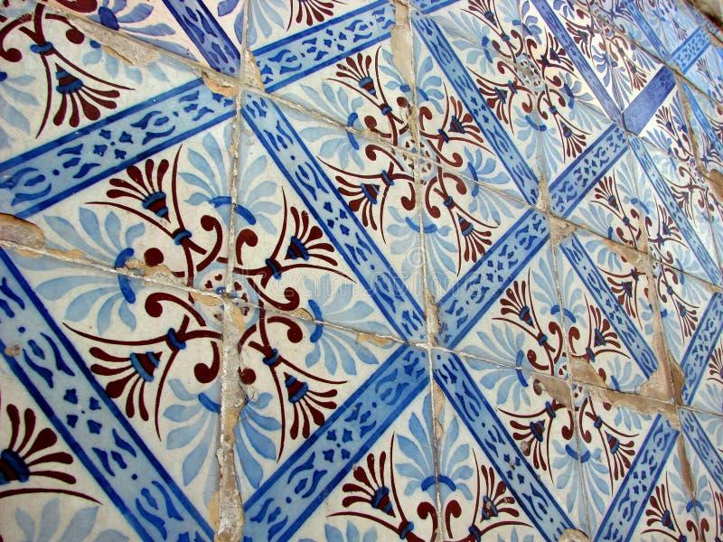 Azulejos - telhas imagens de stock royalty free