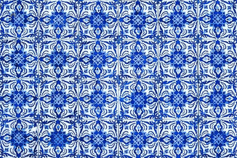 Azulejos, traditional Portuguese tiles royalty free illustration