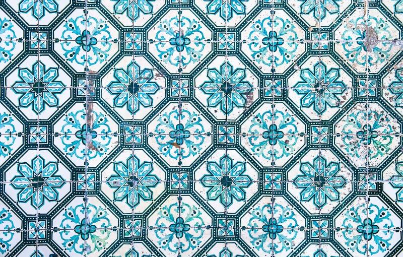 Azulejos, traditional Portuguese tiles vector illustration