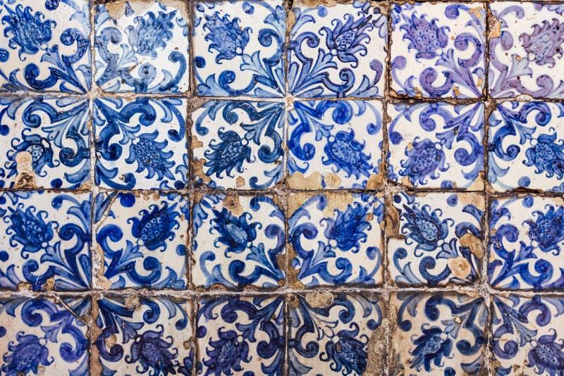 Azulejos - tuiles du Portugal images stock