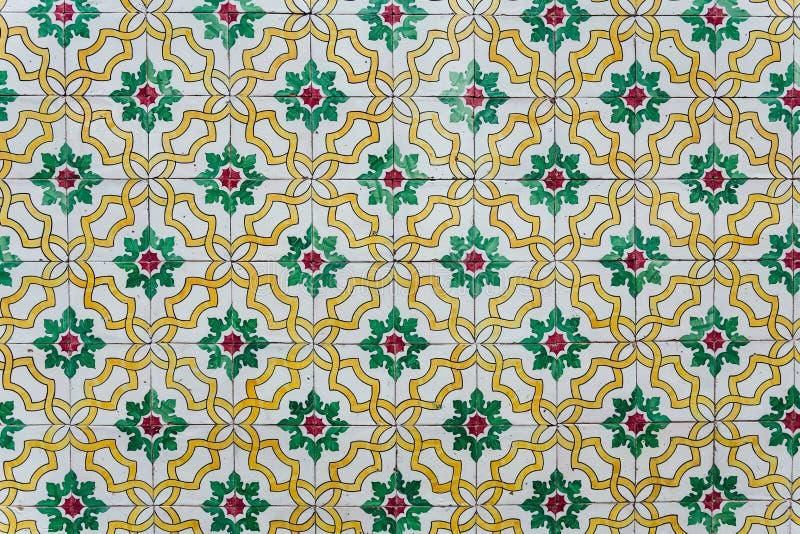 Azulejos - tuiles du Portugal images libres de droits