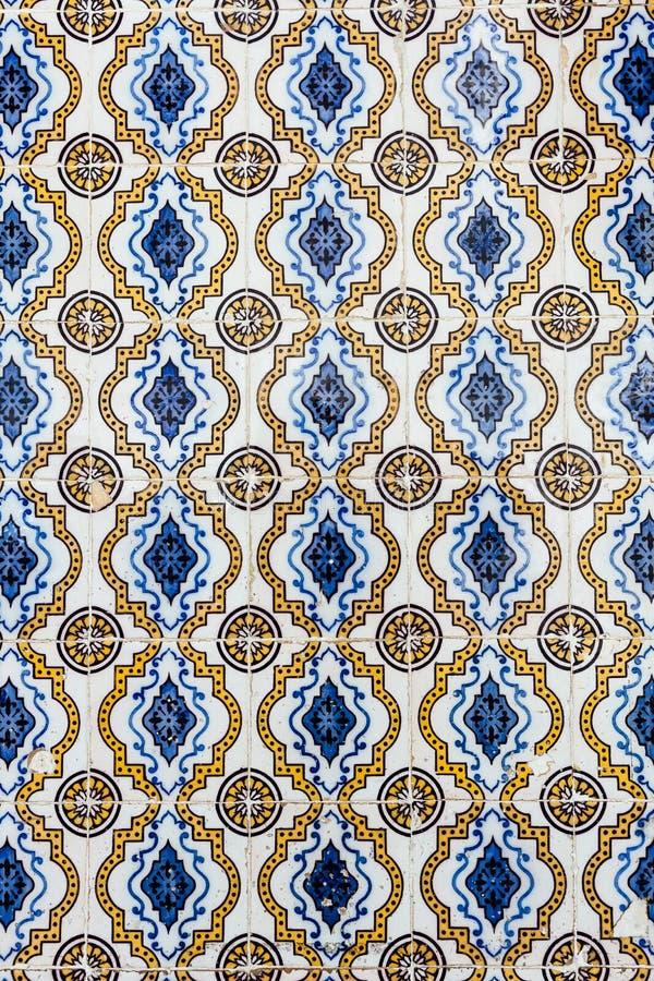 Azulejos - tuiles du Portugal image libre de droits