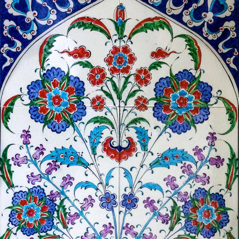 Azulejos turcos orientais, Turquia fotos de stock royalty free