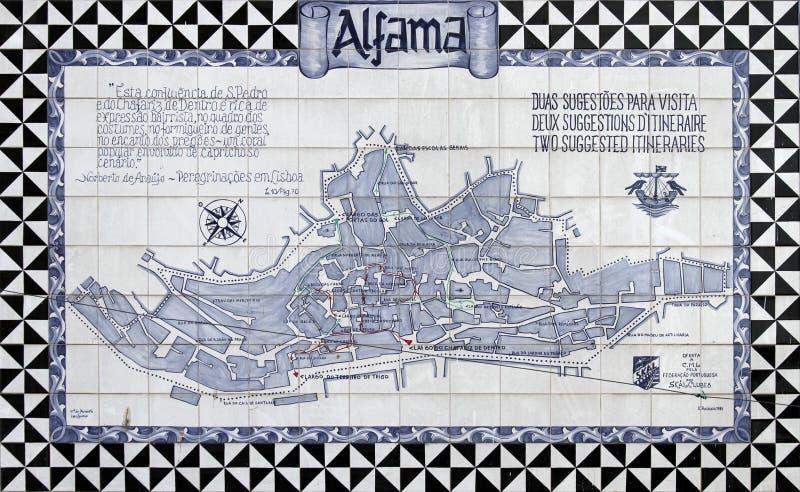 Azulejos van Lissabon royalty-vrije stock afbeelding