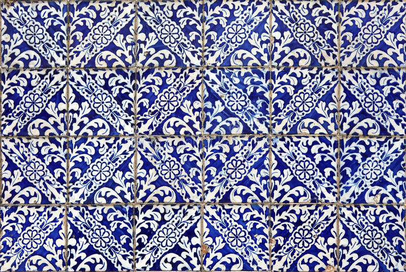Azulejos van Lissabon royalty-vrije stock afbeeldingen