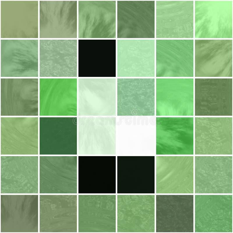 Azulejos verdes libre illustration