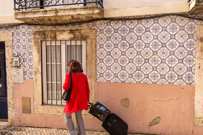 Azulejos w Lizbonie obraz royalty free